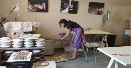 Studio artist in residence, museo della ceramica Italy